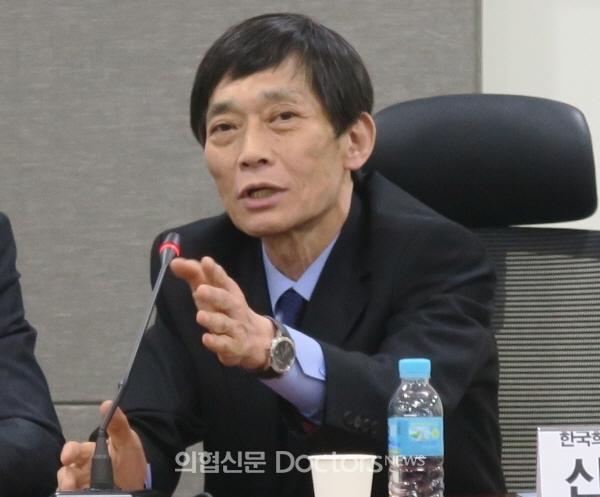 신현민 희귀·난치성질환연합회장. ⓒ의협신문