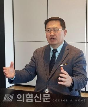 박정율 조직위원장 ⓒ의협신문